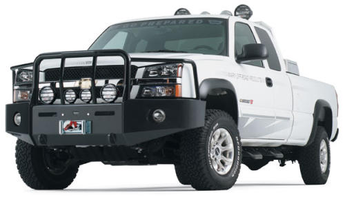 Warn heavy duty winch bumper