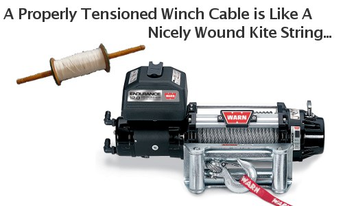 What is a winch tensioner
