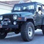 1997 Jeep Wrangler Sahara with winch