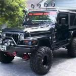 1999 Jeep Wrangler Sahara winch