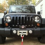 2011 Jeep Wrangler JK with winch