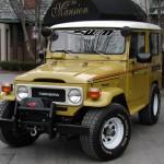 1980 Toyota Land Cruiser winch