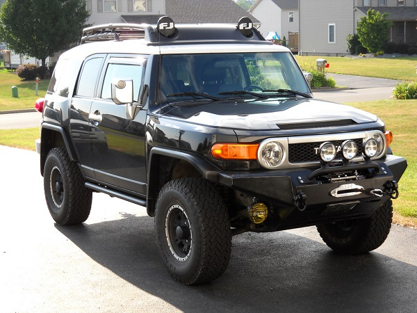 Wonderful 2009 Toyota FJ Cruiser Winch