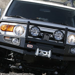 Toyota FJ Cruiser Winch