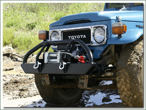 Toyota Land Cruiser Winch